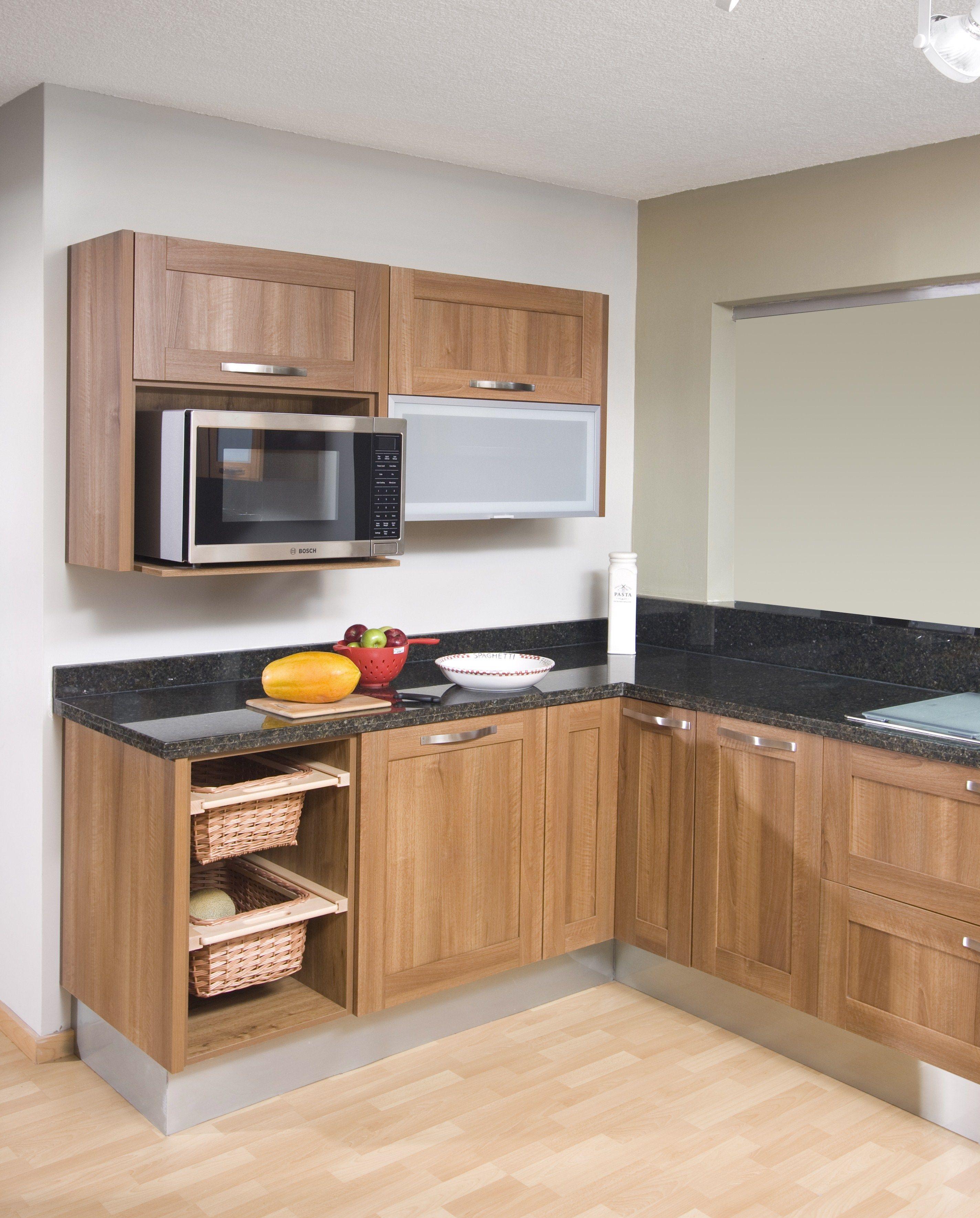 Diseño De Muebles Cocina Pequeñas | Diseño Mueble Cocina Con Madera ...