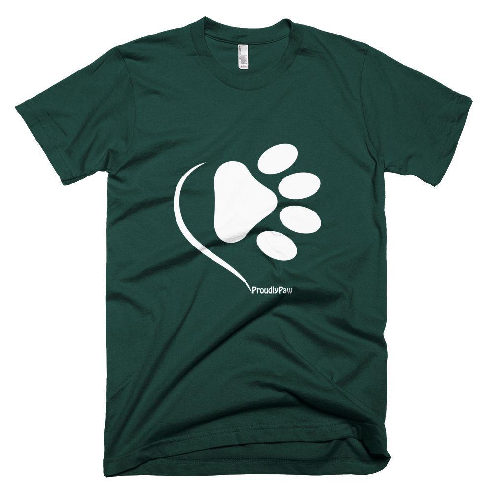 The Love Paw / White - Short Sleeve Men's T-Shirt