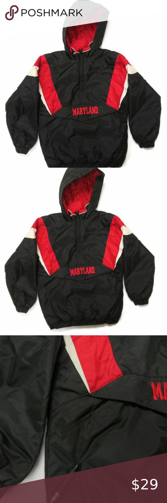 Reebok Heisman Collection Maryland Puffer Jacket Jackets Pullover Jacket Puffer Jackets [ 1740 x 580 Pixel ]
