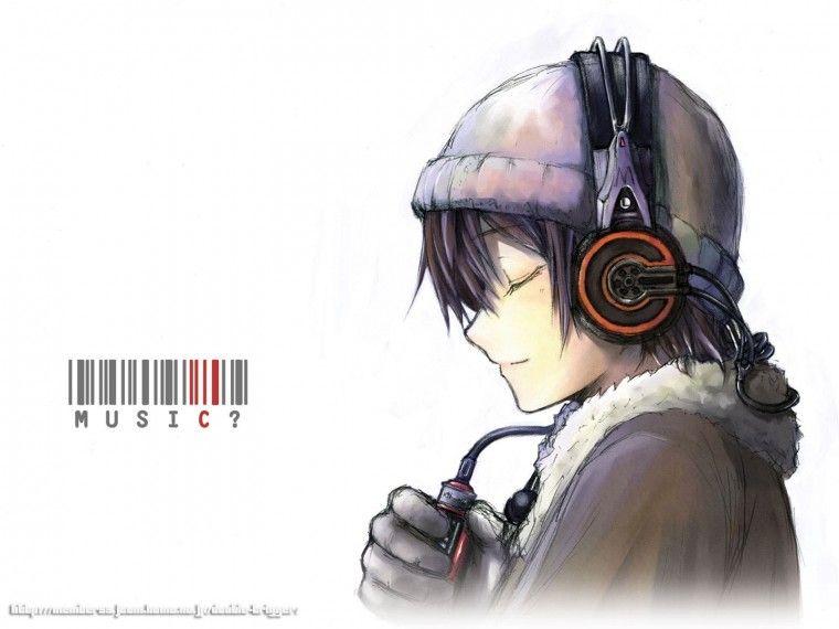 Pin Di O F M Anime headphones iphone wallpaper