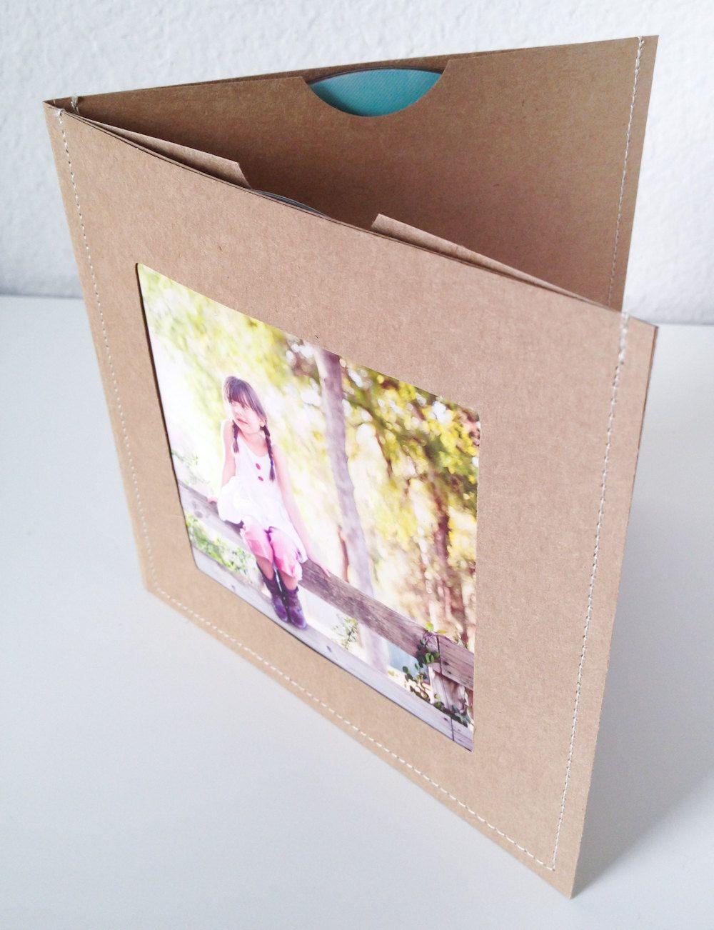 Васильковое, открытка из упаковок