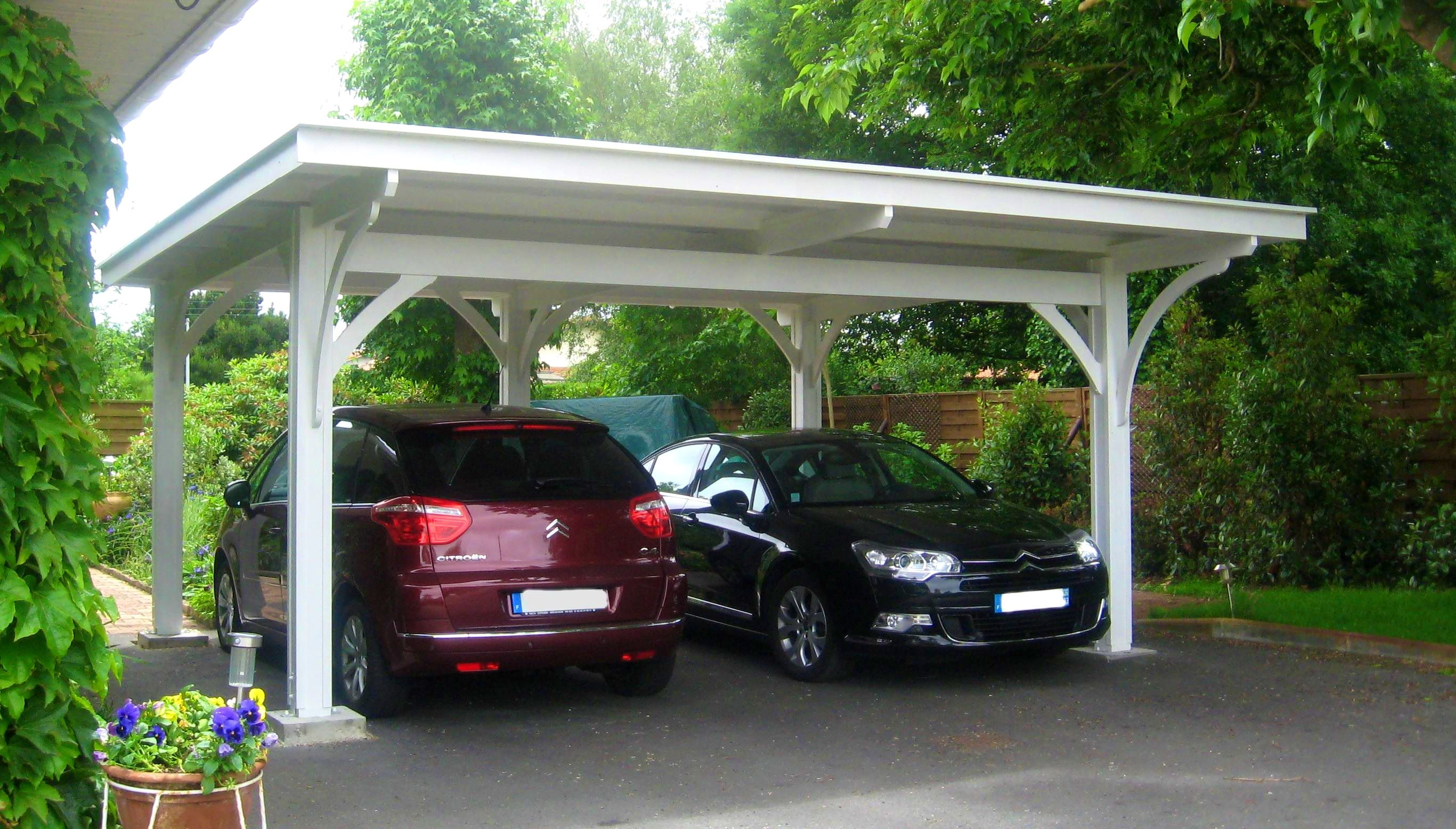 Bedroom agreeable images about carport ideas designs car for Carport with attached workshop