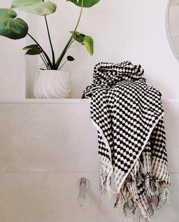 Pom Pom Turkish Bath Towel Black And White Miss April Turkish Bath Towels Black And White Towels White Bath Towels