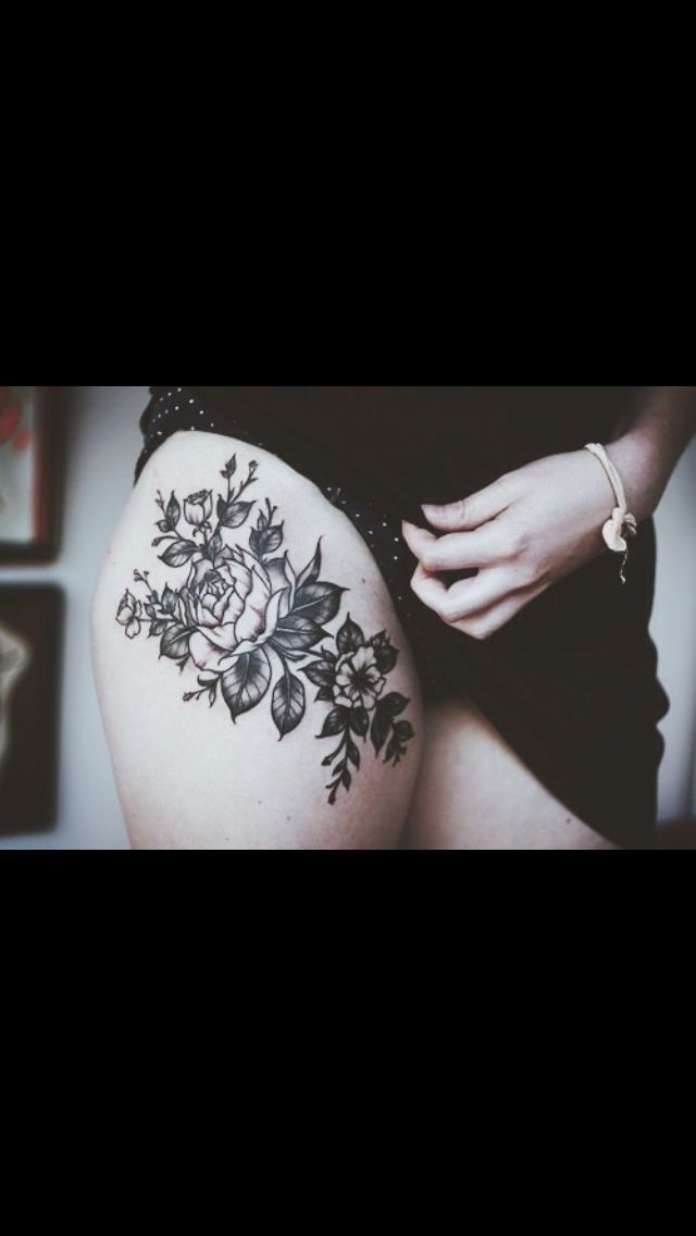Tattoo Ideas Upper Thigh: Shape- Could Be A Bit Bigger Width Wise