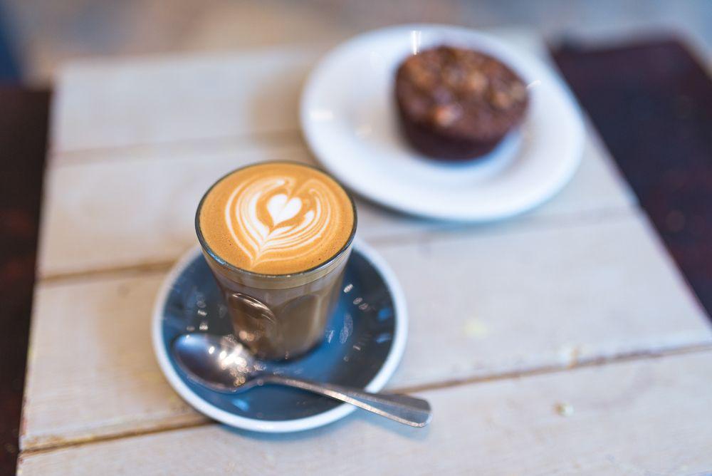 Cortado at Timberyard, London. #coffee
