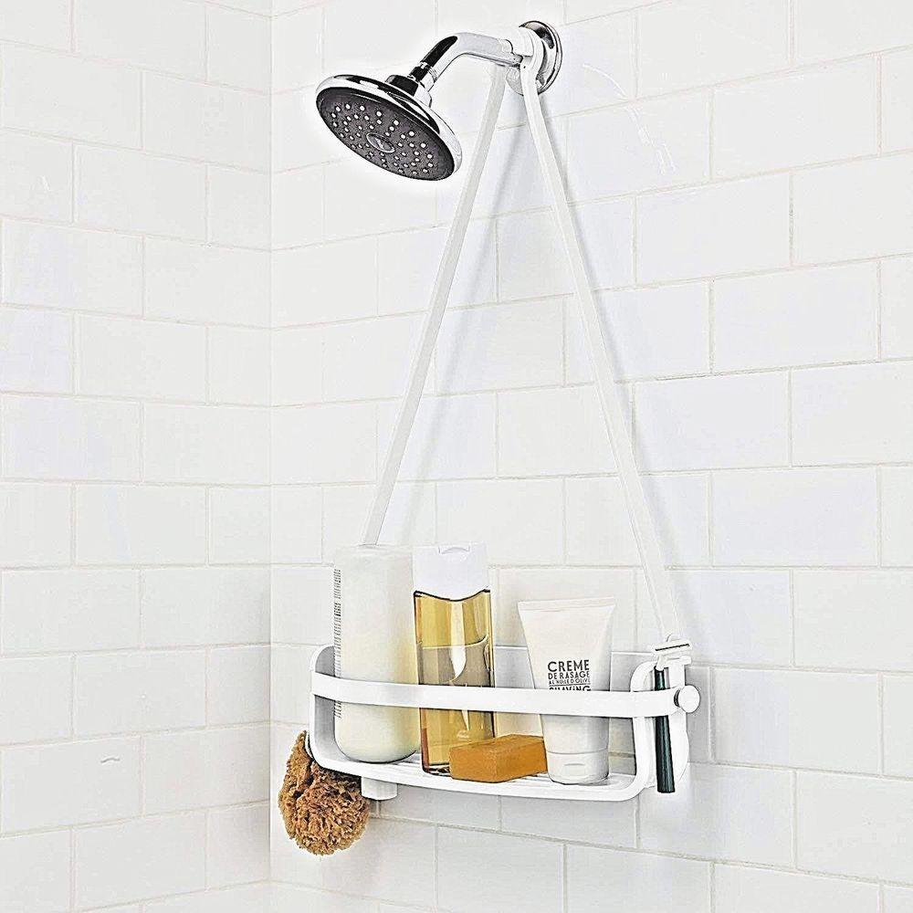 Umbra Flex Single Shower Caddy White Free Us Shipp Umbra