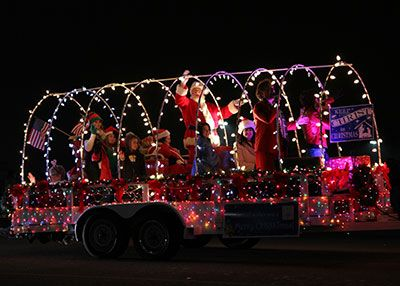danz family tulsa christmas parade