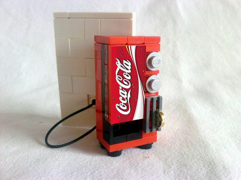 Lego Diet Mountain Dew Vending Machine Custom Set for Boys /& Girls Very Detailed
