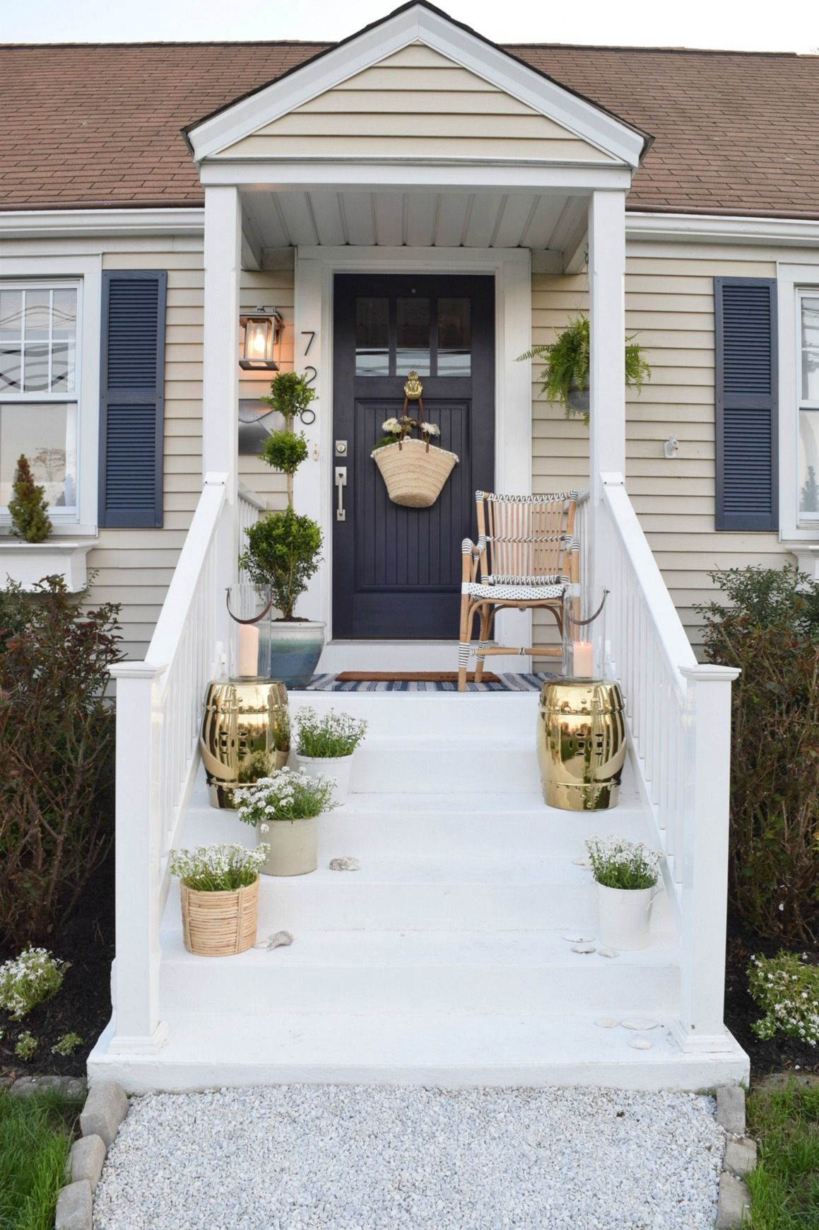 Front Porch Ideas And Designing The Outdoors Nesting With Grace