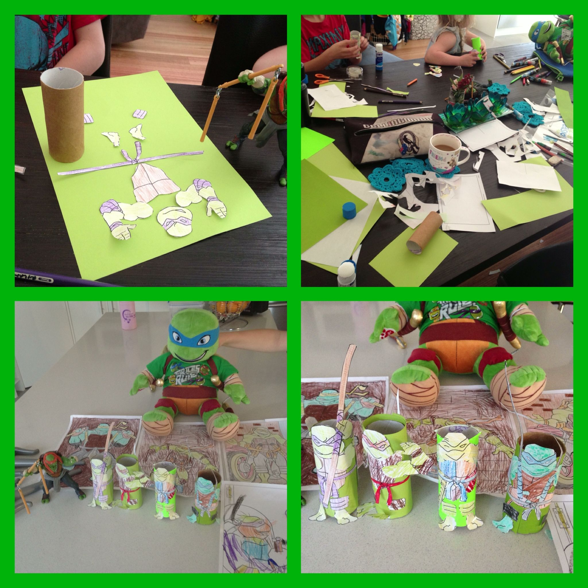 Tmnt day! Craft template from DLTK . Fun and no cost, yay :) | Stuff ...