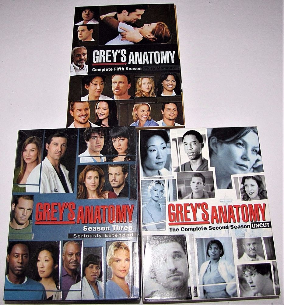Perfect Grey Anatomy Dvd Gallery - Anatomy and Physiology Tissue ...