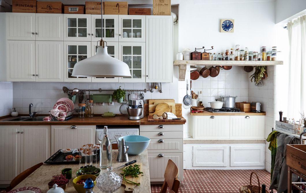 Küche im Landhausstil in der Stadtmitte ° K I T C H E N - ikea k che landhausstil