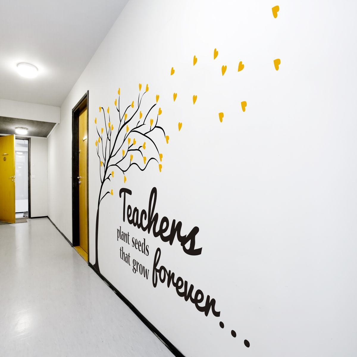 Beautiful vinyl wall art for teachers and schools... save ...