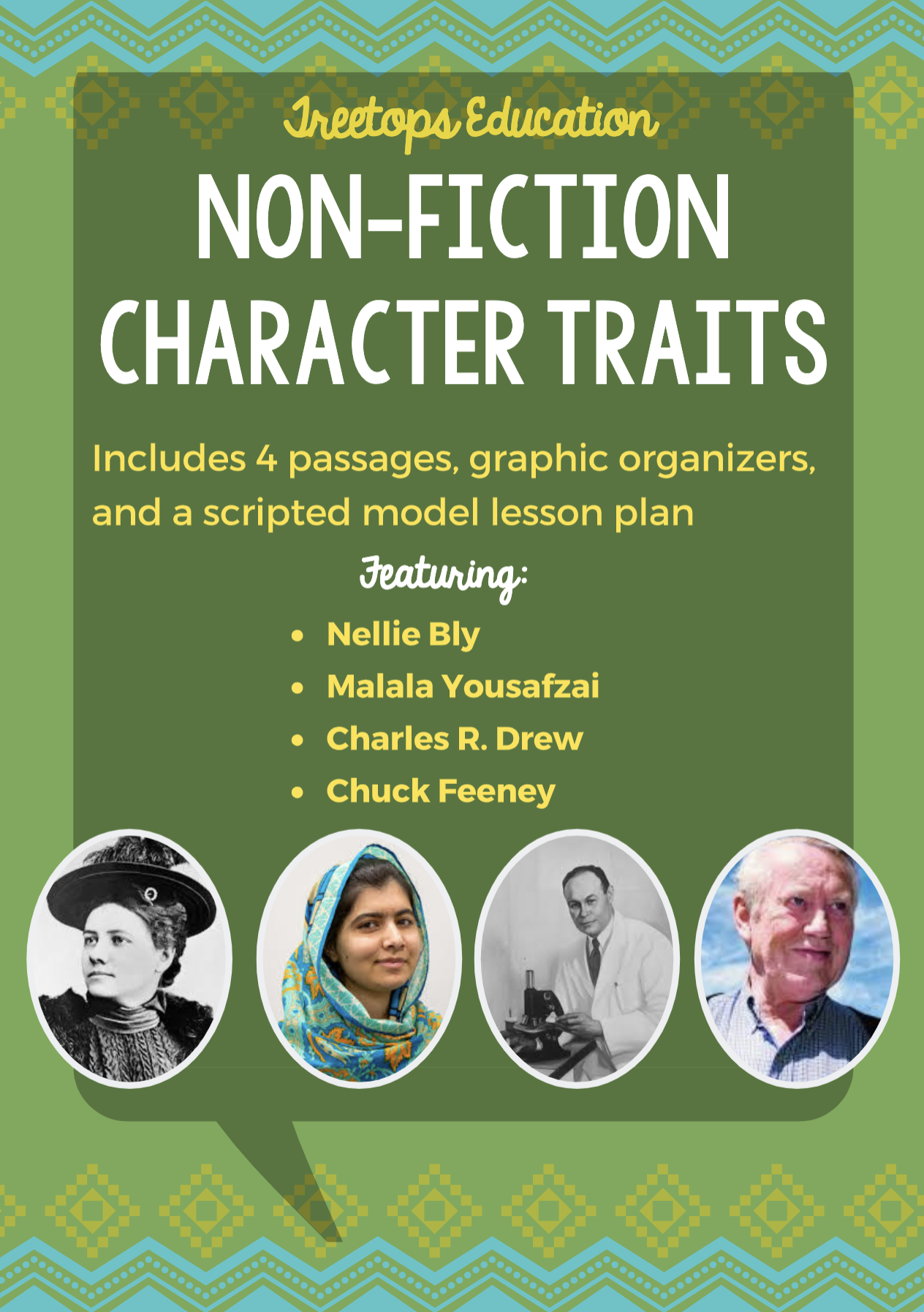 Non Fiction Character Trait Packet