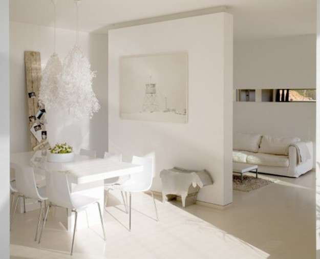 Show Homes Decorating Ideas Part - 23: The Websites Which Show Home Decorating Ideas: Modern Small WHite Dining  Room Furniture Set For Show Home Decorating Ideas ~ Rudedogdesigns.