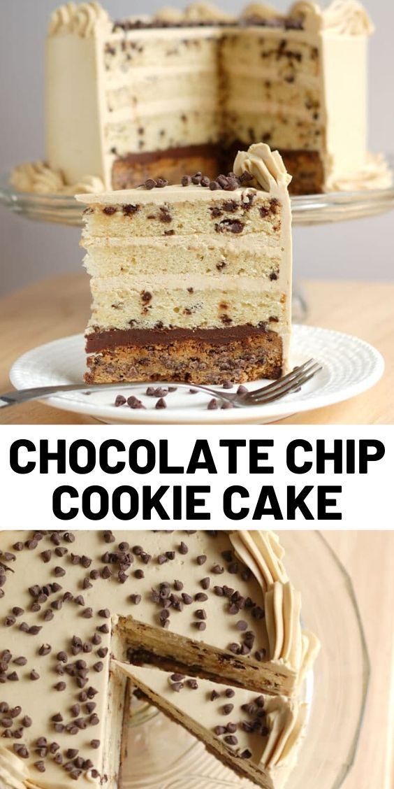 Photo of Chocolate Chip Cookie Cake