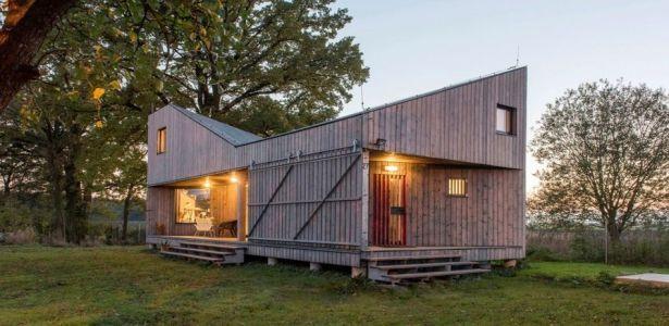 Petite Maison En Bois Ayant Emporte Le Prix De L Architecture En
