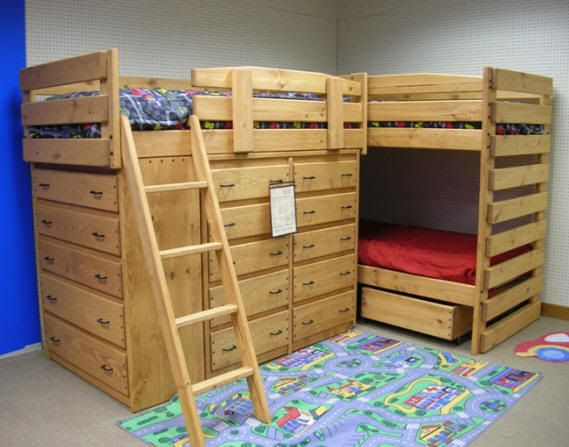 Bunk Beds Anyone Double Bunk Dresser And Lofts