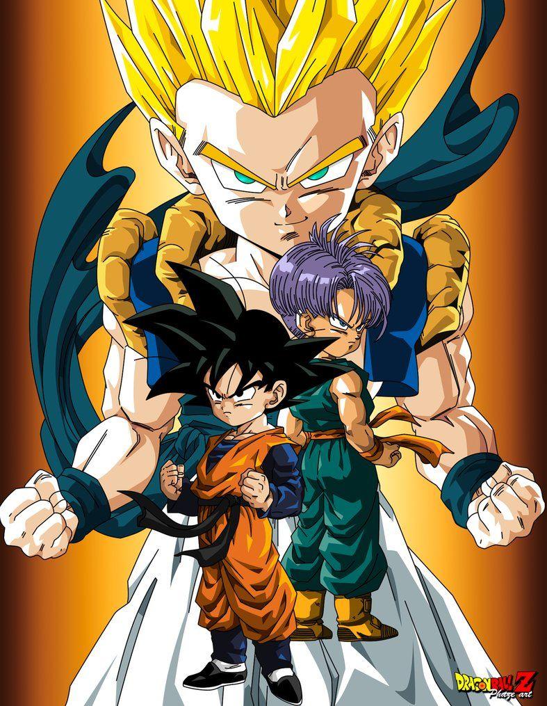 Dragon ball Z- Goku and Gohan vs Freeza, Cell and Kid Buu ...