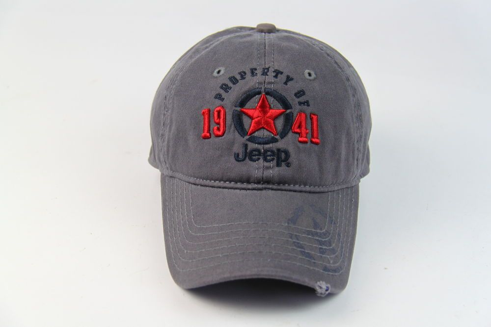 067c01b1341 Jeep 1941 Hat Adjustable Golf Sport Baseball Cap New Grey 100% Cotton Men s  Polo  fashion  clothing  shoes  accessories  mensaccessories  hats (ebay  link)