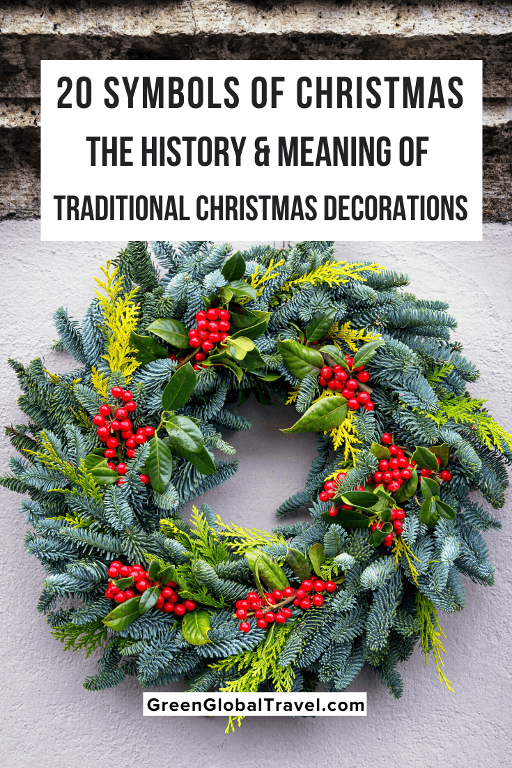 20 Symbols Of Christmas History Meaning Of Xmas Decorations Traditional Christmas Decorations Tinsel Christmas Tree Christmas Tree Star Topper