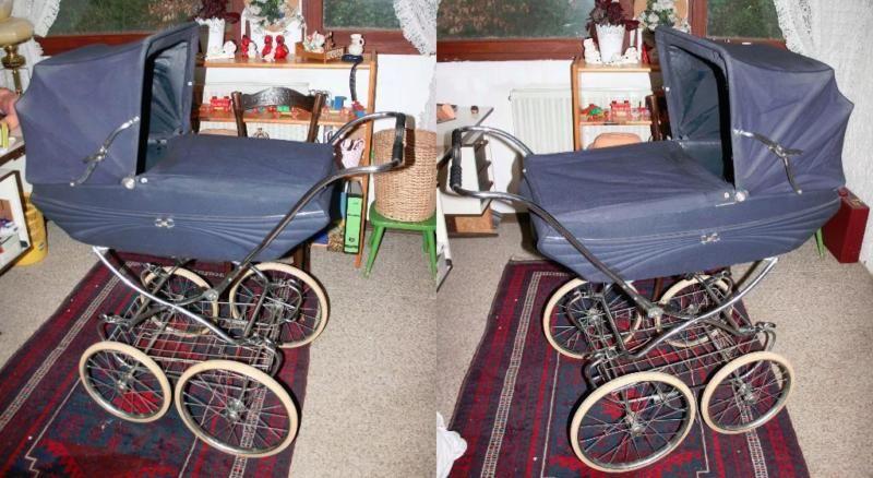 verkaufe vintage kinderwagen original 70er jahre in nordrhein westfalen stolberg rhld. Black Bedroom Furniture Sets. Home Design Ideas