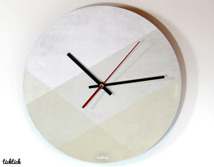 Uhren ticktick design wanduhr yearning ein designerst ck von claus peter 2 bei dawanda - Coole wanduhren ...