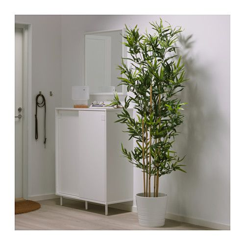 Fejka plante artificielle en pot bambou plantes for Plante verte artificielle ikea