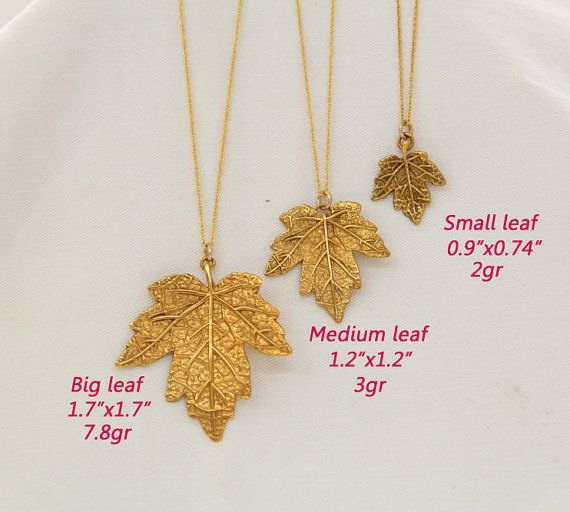 Leaf jewelry maple leaf pendant 18k gold plated leaf maple tree leaf jewelry maple leaf pendant 14k gold plated leaf by paolitaart aloadofball Image collections