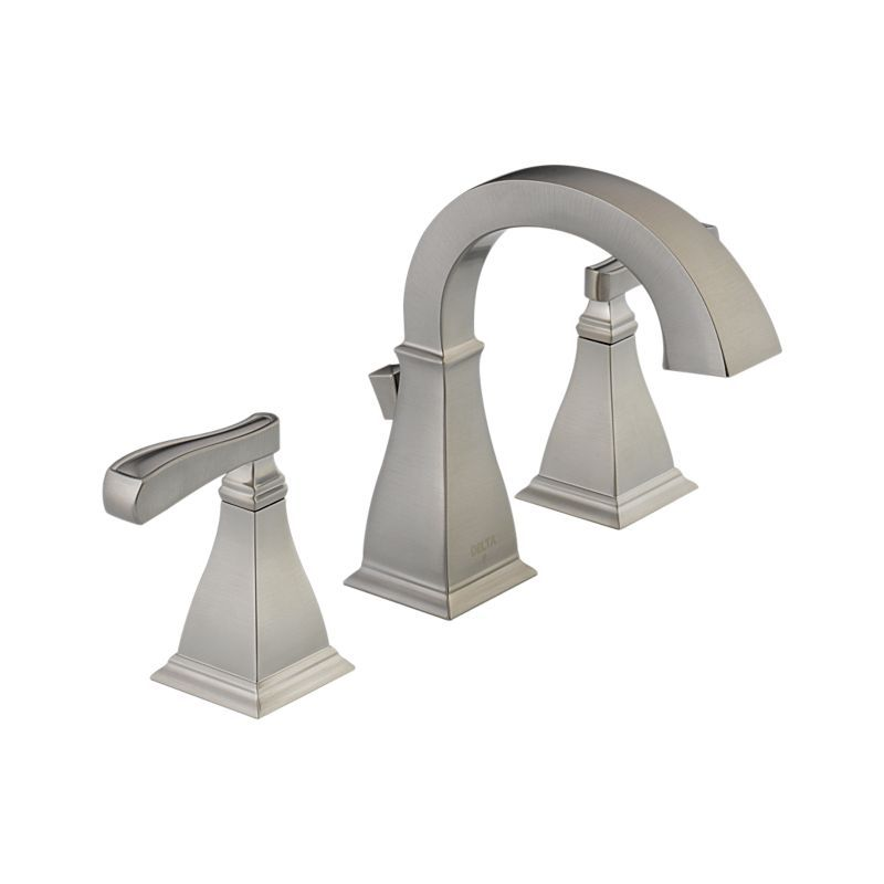 35717 Sp Dst Olmsted Two Handle Widespread Lavatory Faucet Bath Products Delta Faucet Sink Faucets Widespread Bathroom Faucet Delta Faucets
