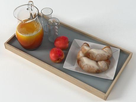 N/A Breakfast Set 3d model |  Designconnected Studio
