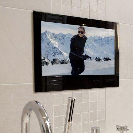Watervue 19 Inch Hd Ready Bathroom Television Bathroom Tv Tv In Bathroom Bathroom Televisions Tv