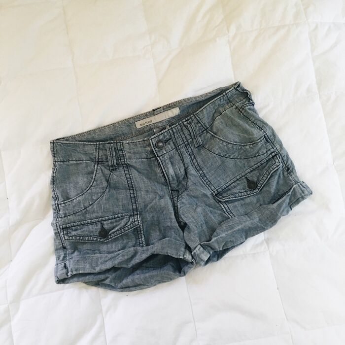 c356cdce29 My Old Navy Chambray Shorts by Old Navy! Size 0 / XXS for $$10.00