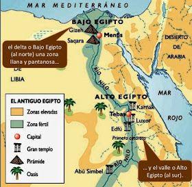 Mapa De Egipto Antiguo.Mapa Antiguo Egipto Historia De Egipto Egipto Y Egipto
