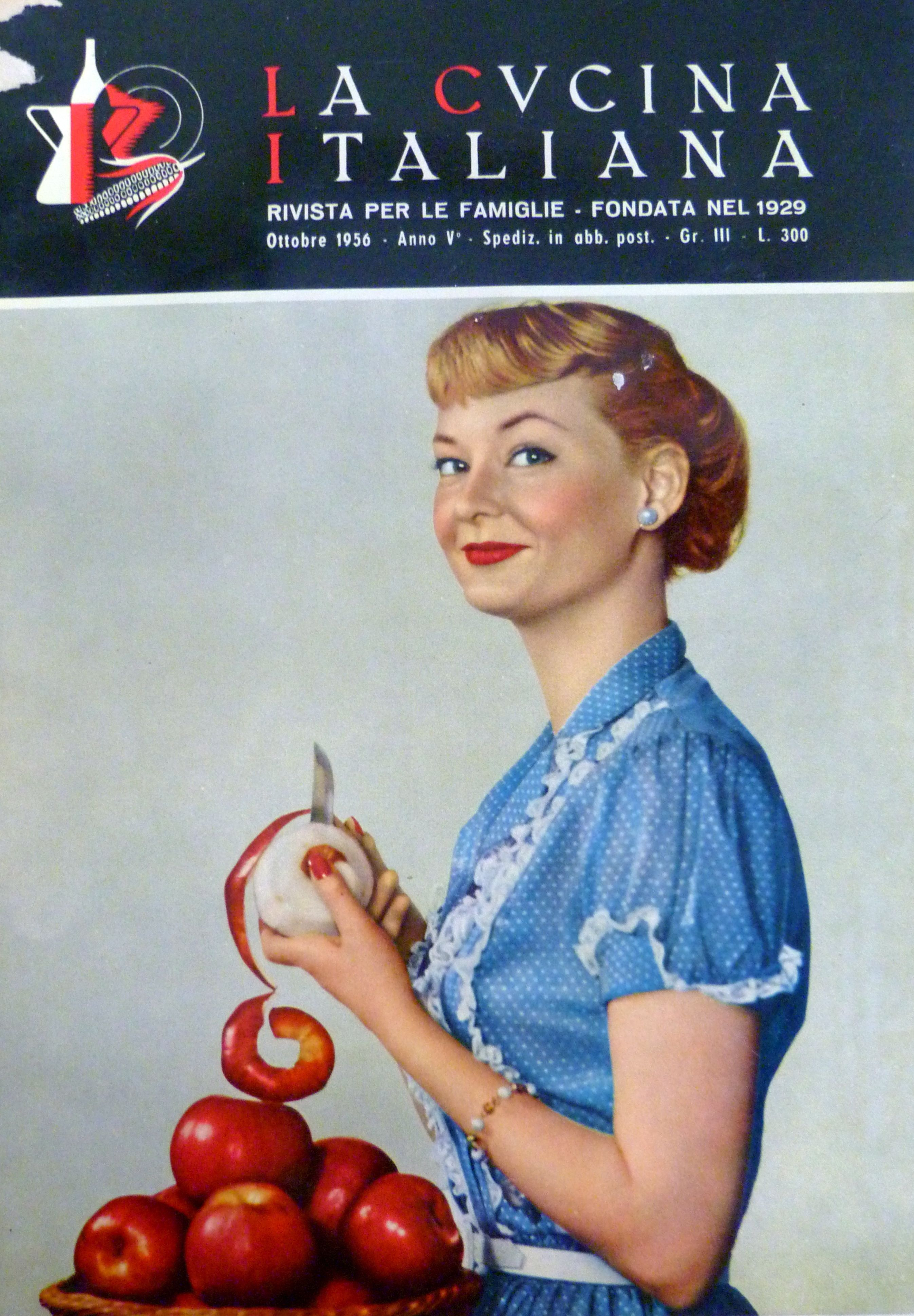 Ottobre 1956 cooking entertainment recipe cucina cucina italiana La cucina  Appletree Cottage