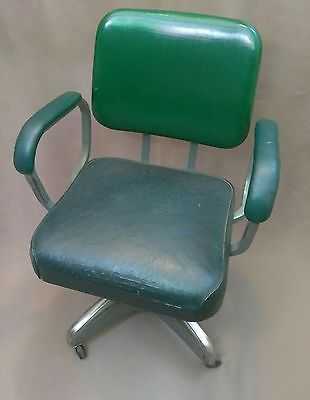 Mid Century Hamilton Cosco Propeller Swivel Office Chair With Arms