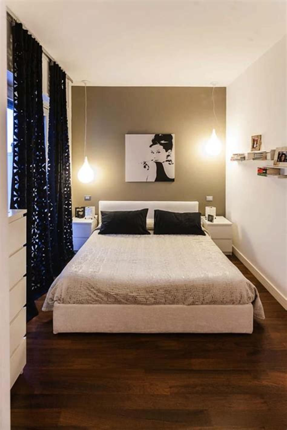 55 Amazing Small Master Bedroom Decorating Design Ideas On A Budget Craft Home Ideas Small Bedroom Decor Small Bedroom Small Master Bedroom
