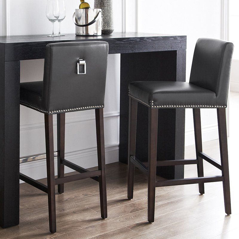 Grey Leather Counter Stools Canada Bruin Blog