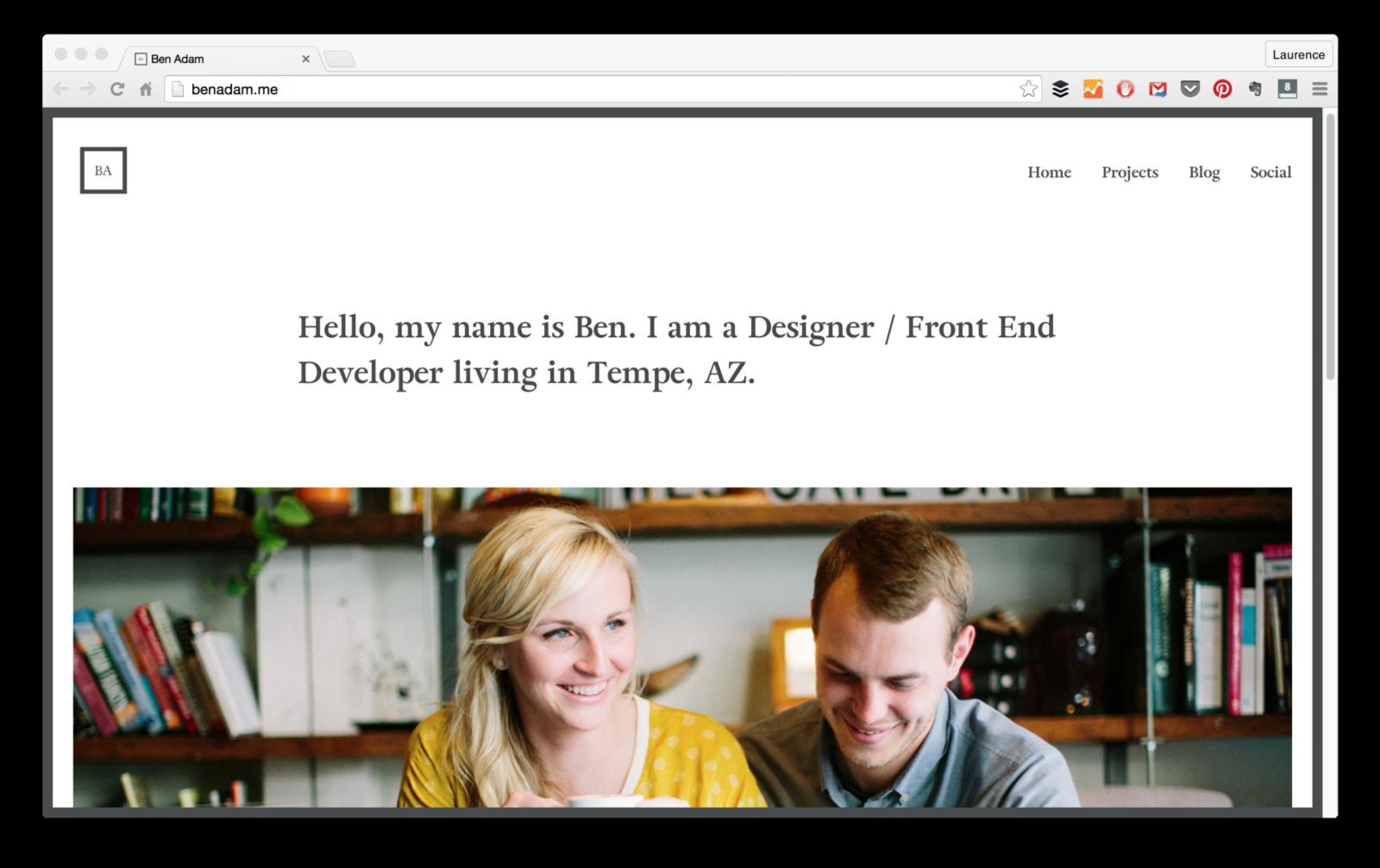 15 Web Developer Portfolios To Inspire You Freecodecamp Web Developer Portfolio Personal Website Portfolio Development