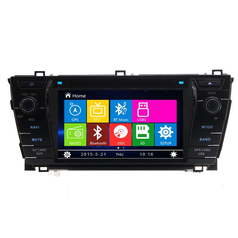 7 car radio dvd player gps navigation central multimedia