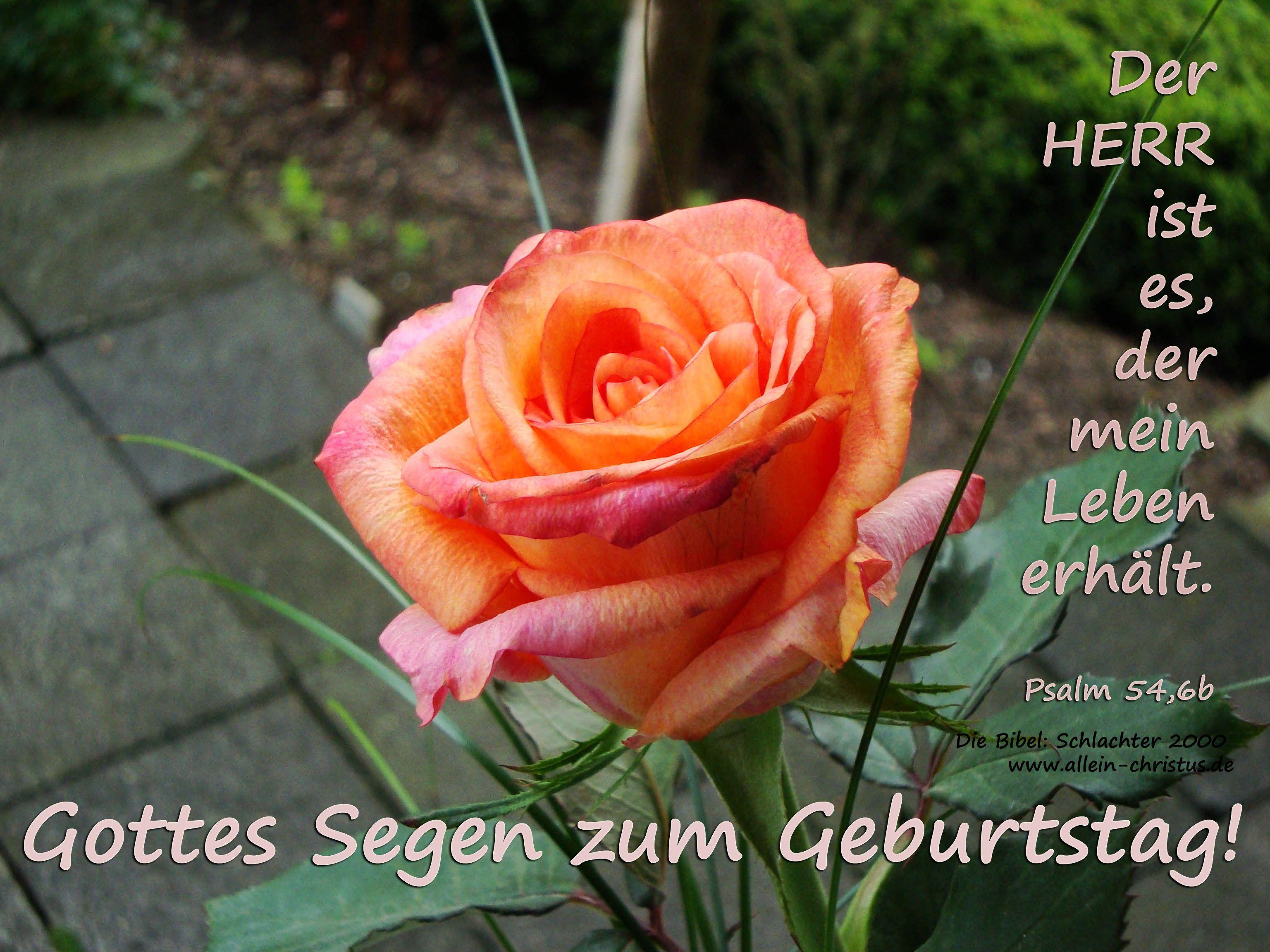Herzlichen Gluckwunsch Zum Geburtstag Ps 54 6b