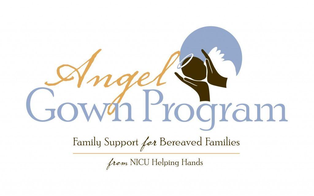 Angel Gown Program Logo from NICU Helping Hands | NICU Helping Hands ...