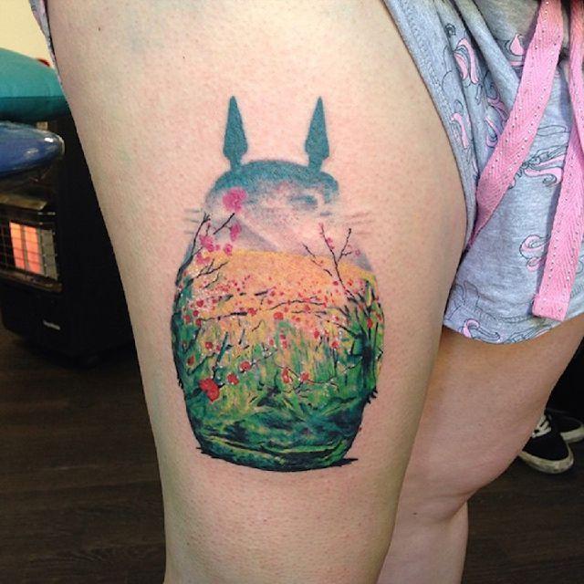 2b437f9dffe33 spirited away tattoo ideas - Google Search | Tattoos | Studio ghibli ...