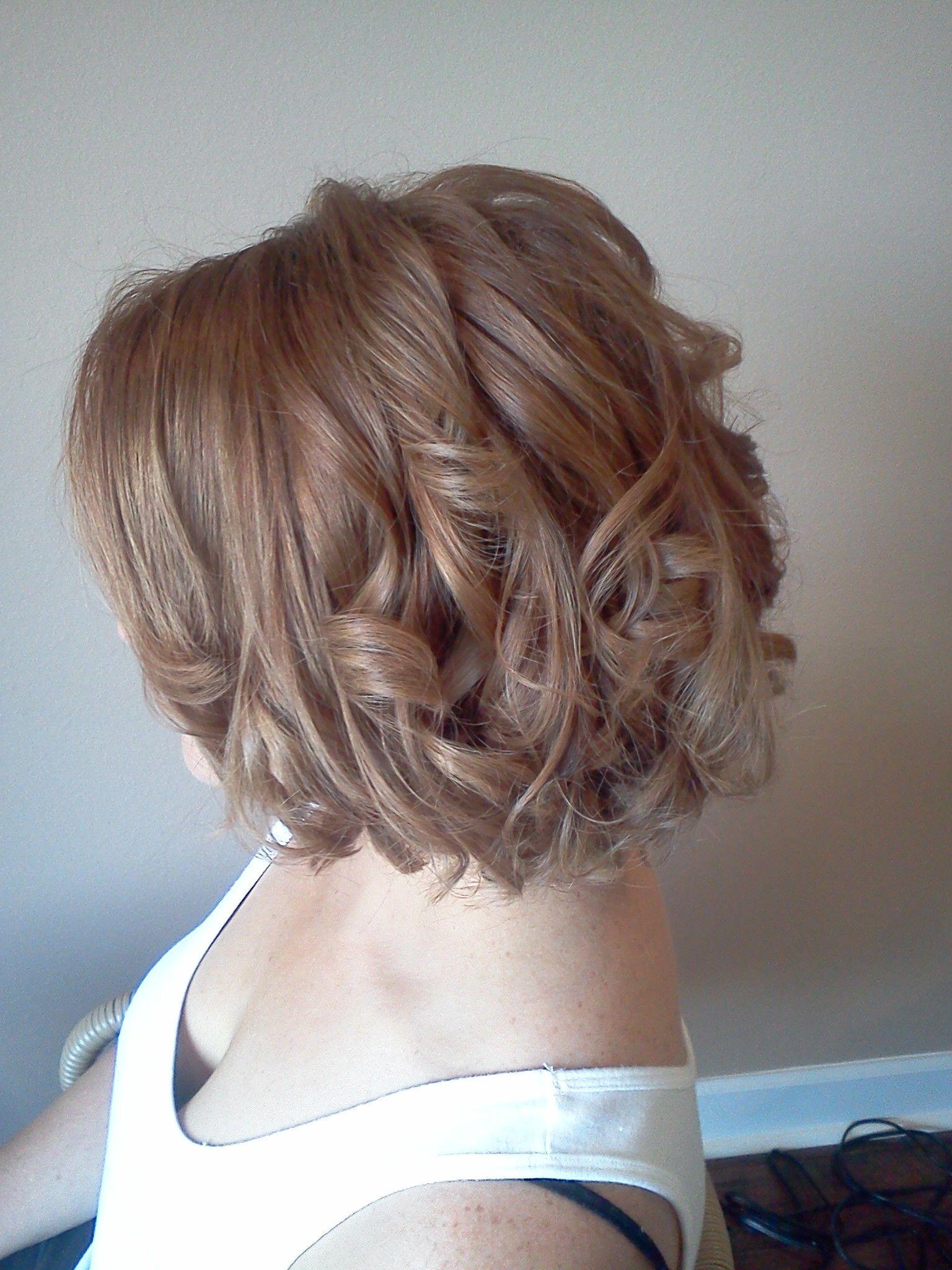loose curls, short hair | hair by belinda <3 - mooie jurken