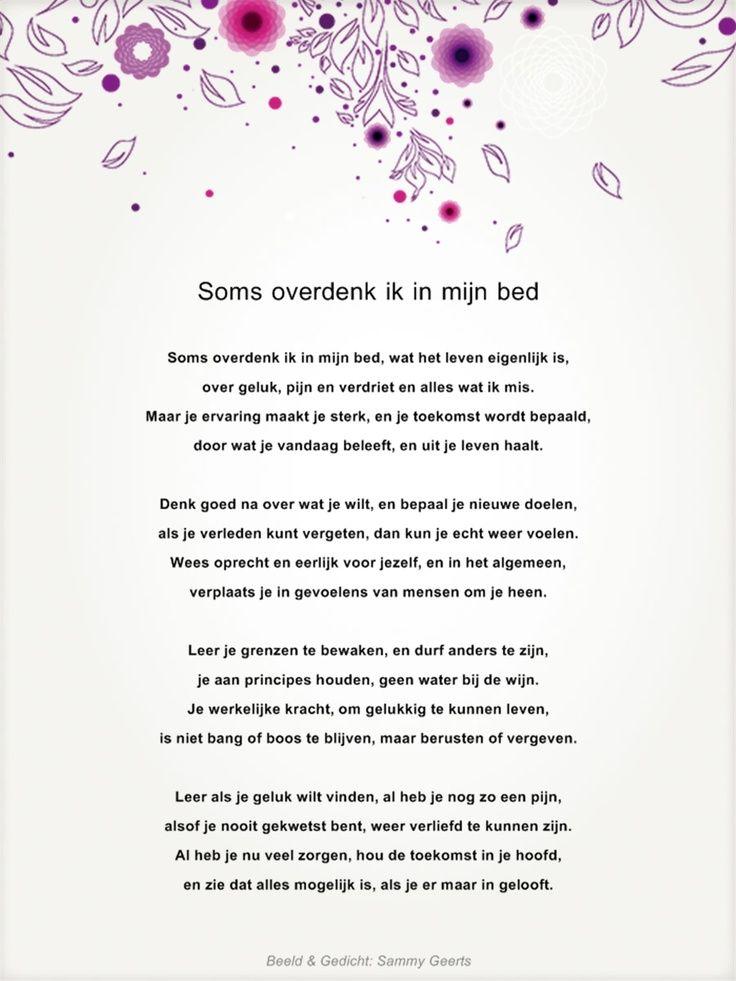 Klein gedicht over geluk