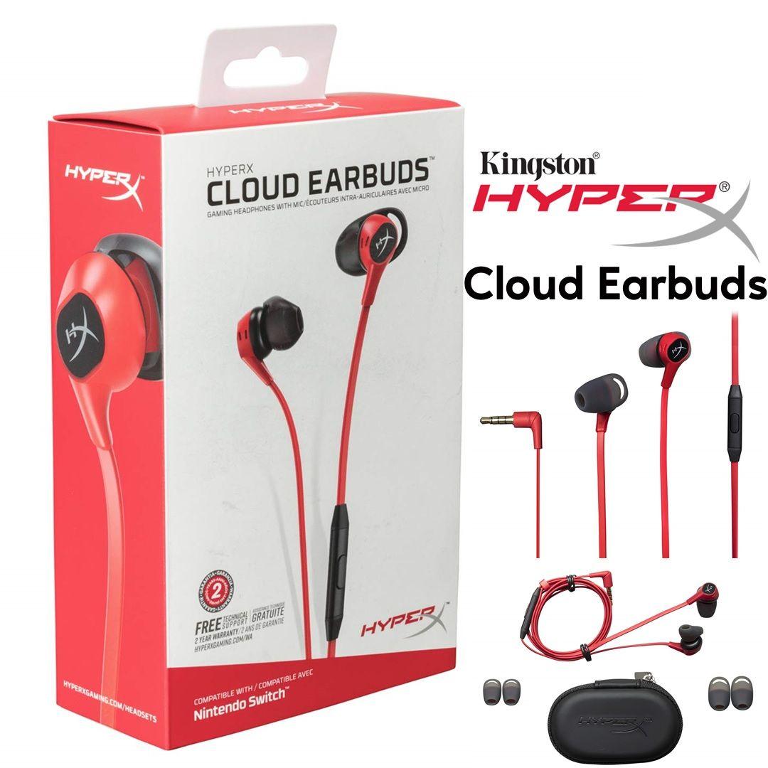 HyperX Cloud Earbuds, Gaming Headset - Personal Computer Center | Earbuds,  Gaming headphones, Gaming headset