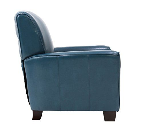Michael Anthony Furniture Nadiana Pushback Recliner, Mayfair Peacock