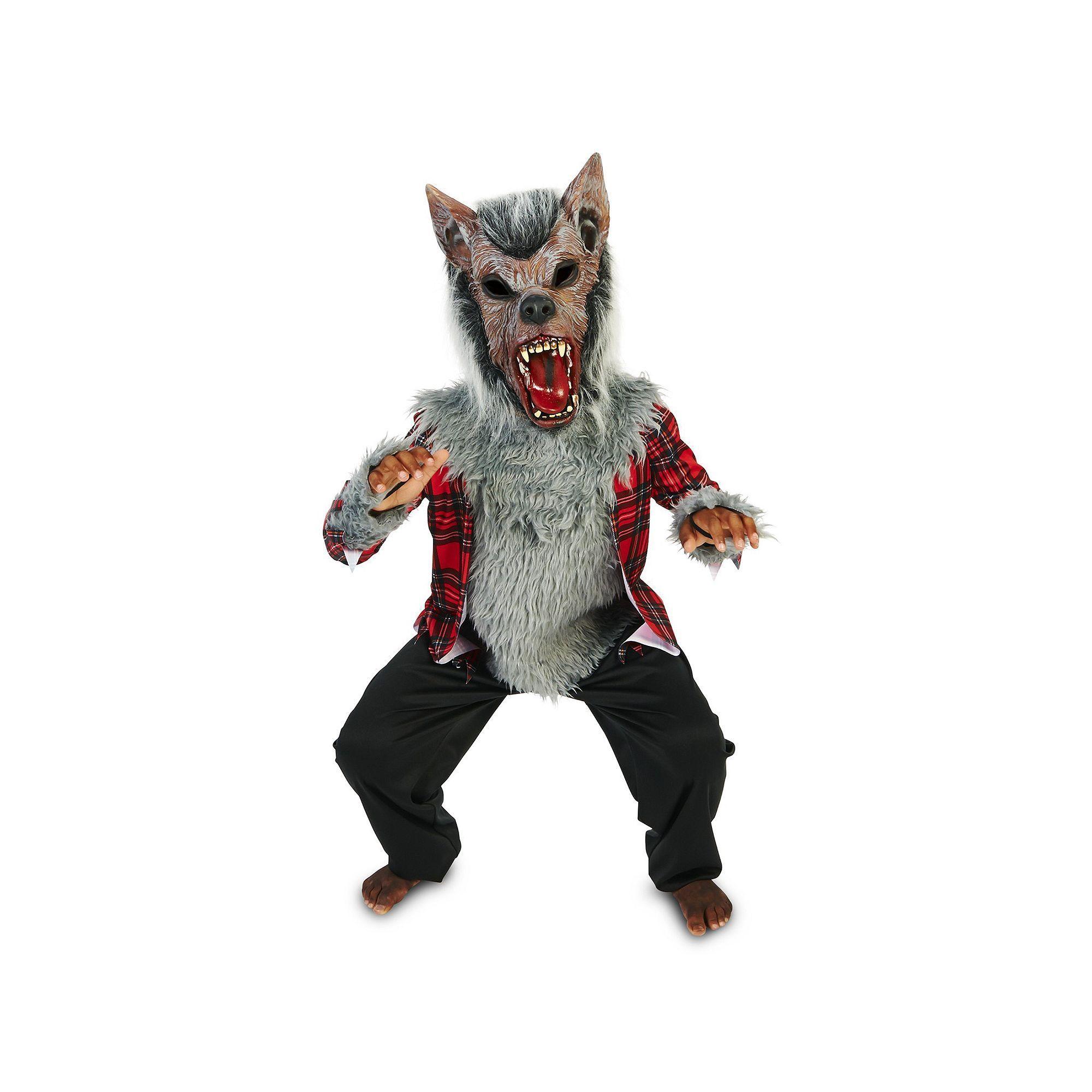 Plus Size Kids Full Moon Howl Werewolf Costume Boyu0027s Size 16-18 Multicolor  sc 1 st  Pinterest & Kids Full Moon Howl Werewolf Costume Boyu0027s Size: 12-14 Multicolor ...