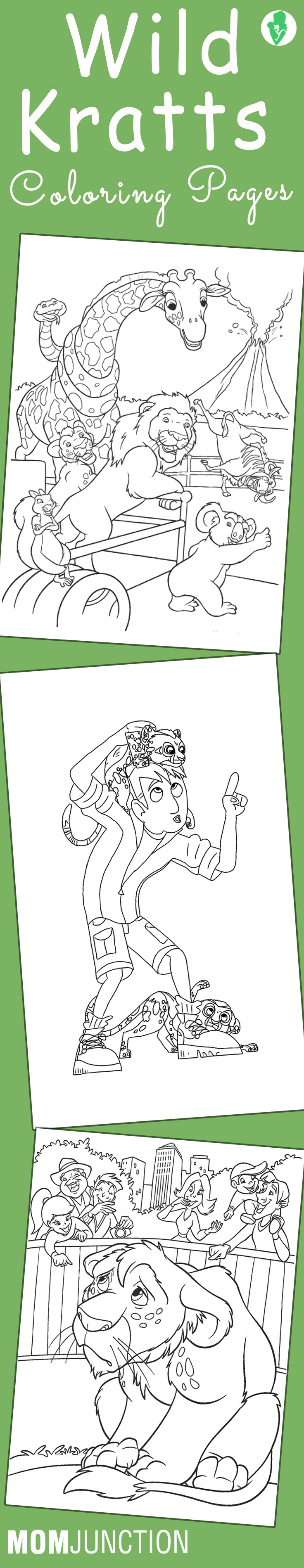 Wild Kratts Coloring Pages Free Printable Wild Kratts
