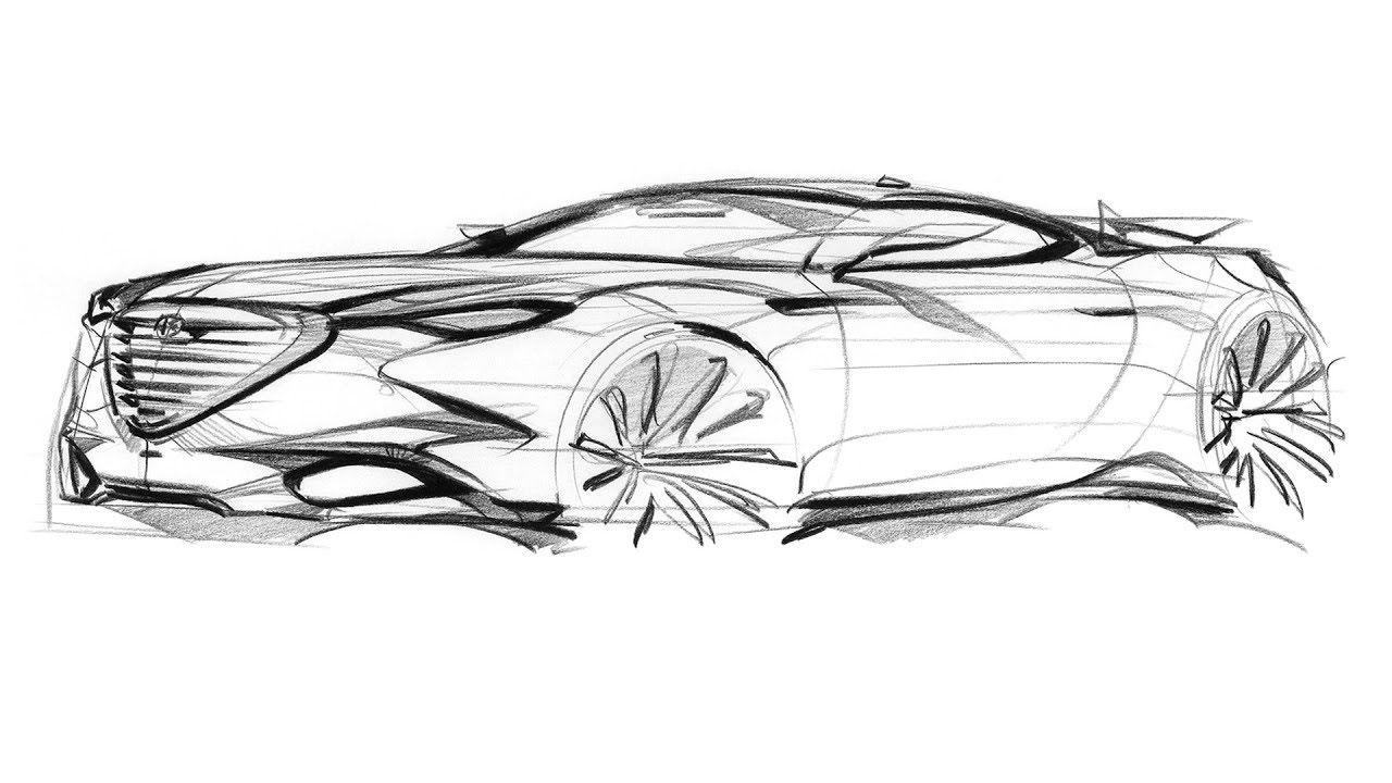 How to sketch a car | Sketches, Car sketch, Sketch design
